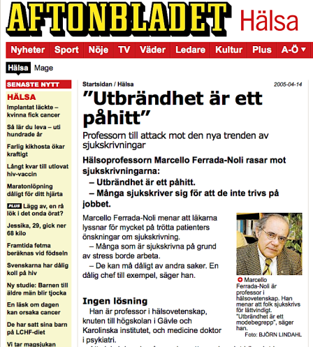 Ferrada de Noli - Aftonbladet 2005