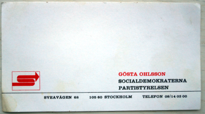 gösta ohlsson visitcard sm.