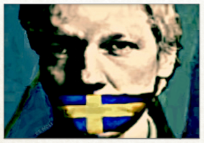 Julian Assange - by Arte de Noli, Itay