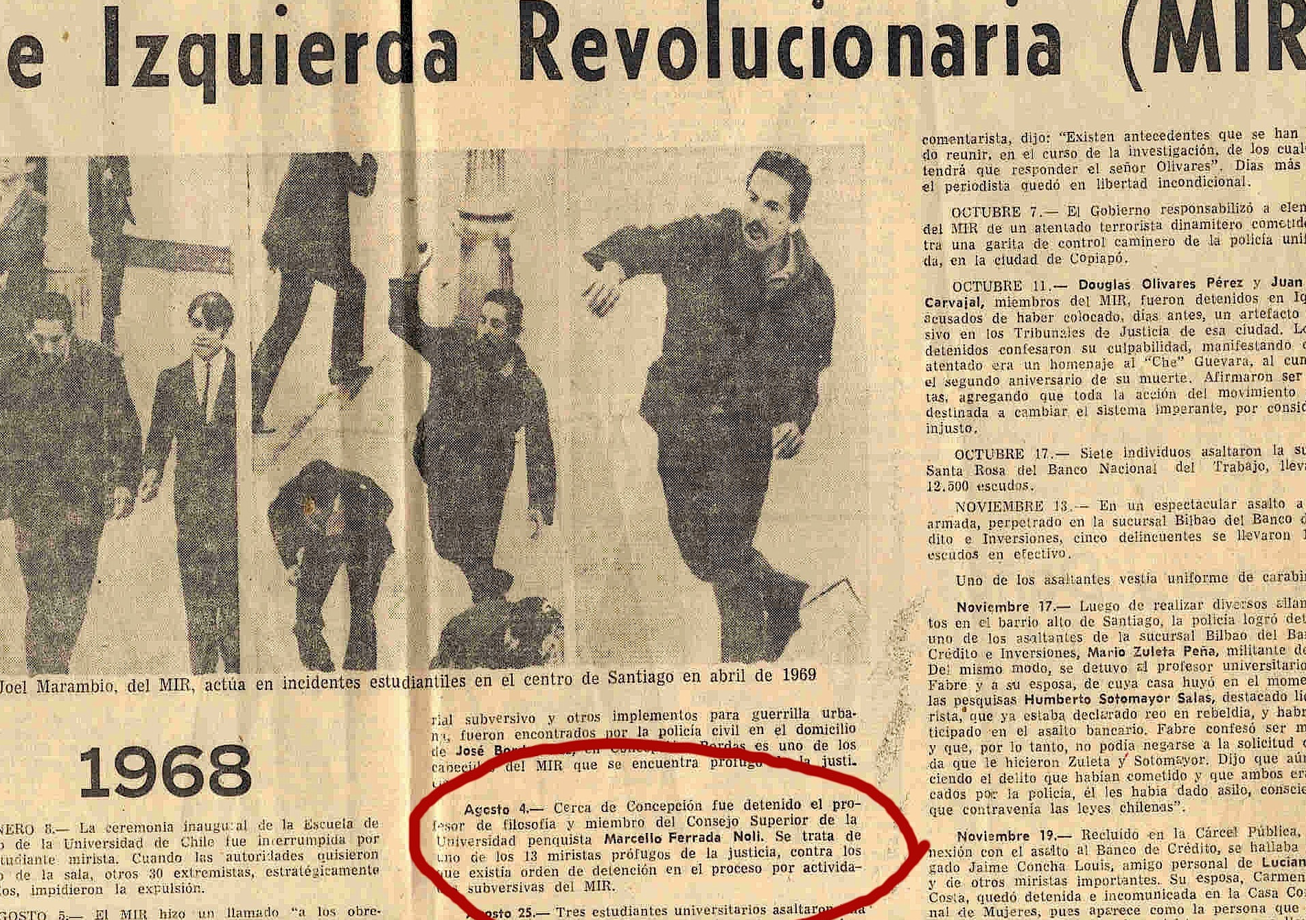 4 agosto 1969 El Mercurio close-up