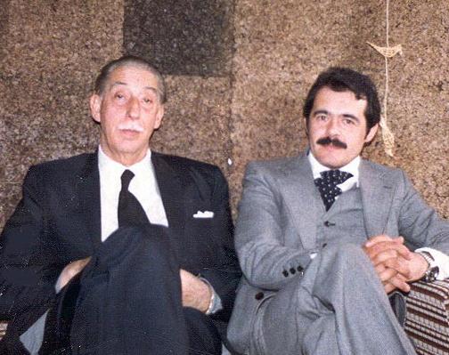 Ex Minister Educ Edgardo Enríquez Frödden & Marcello Ferrada-Noli in Oxford 1979