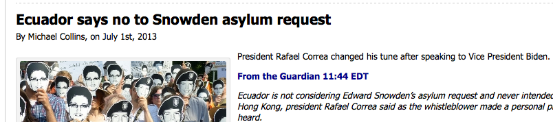 falsehoods sourced in the Guardian