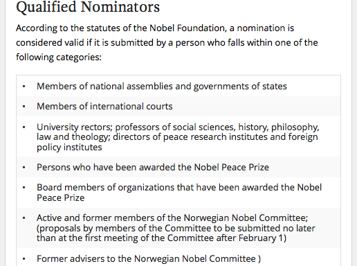 qualified nominators