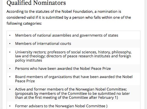 qualified nominators