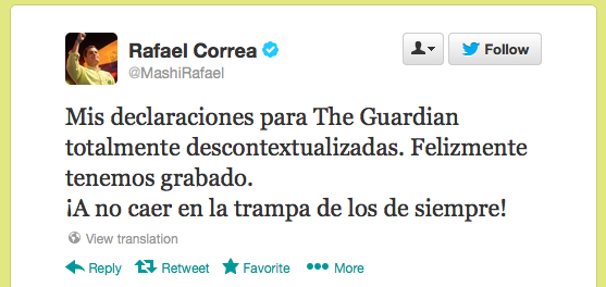 R Correa on The Guardian