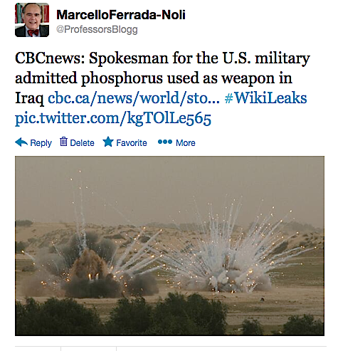 US phosphorus attacks