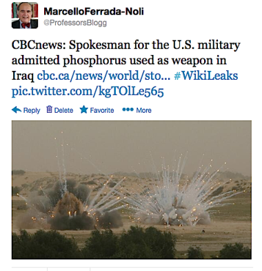 US phosphorus attacks