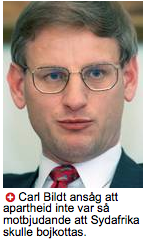 bildt on apharteid i AB