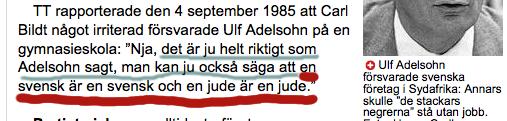 Bildt swe & jude in AB