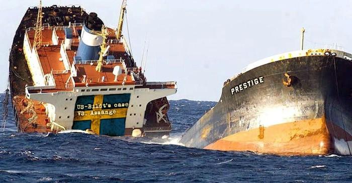 6prestige sinking