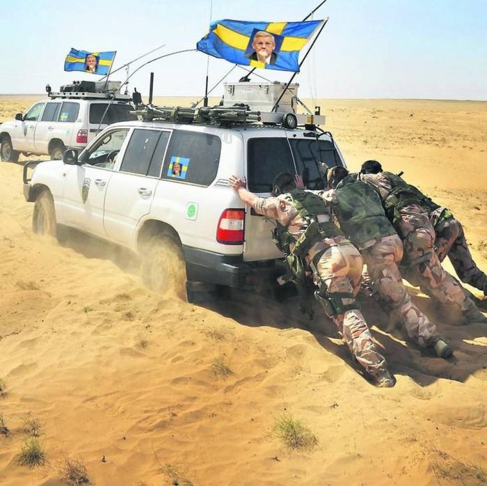 afghanistan svenska soldater bildt social media