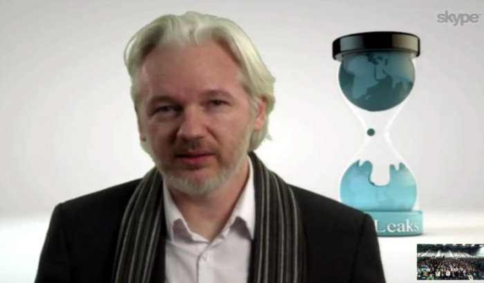 Assange interview 8 March