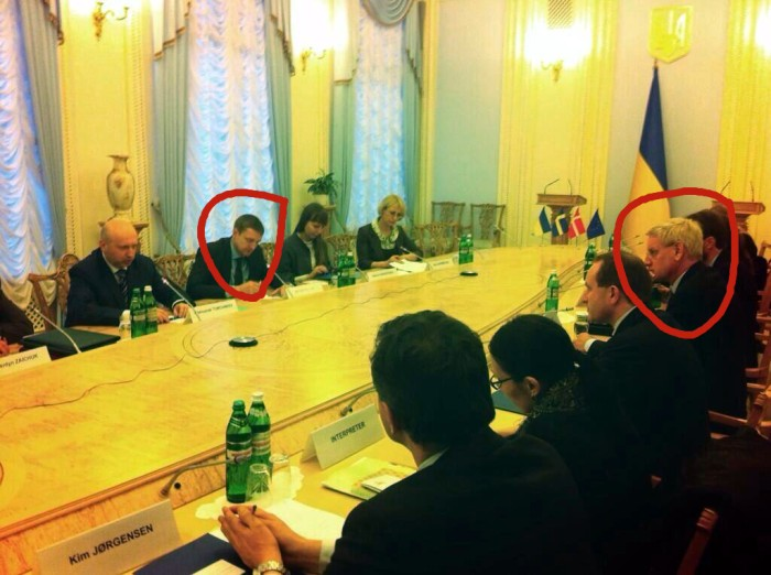 Bildt in Ukraine -marked