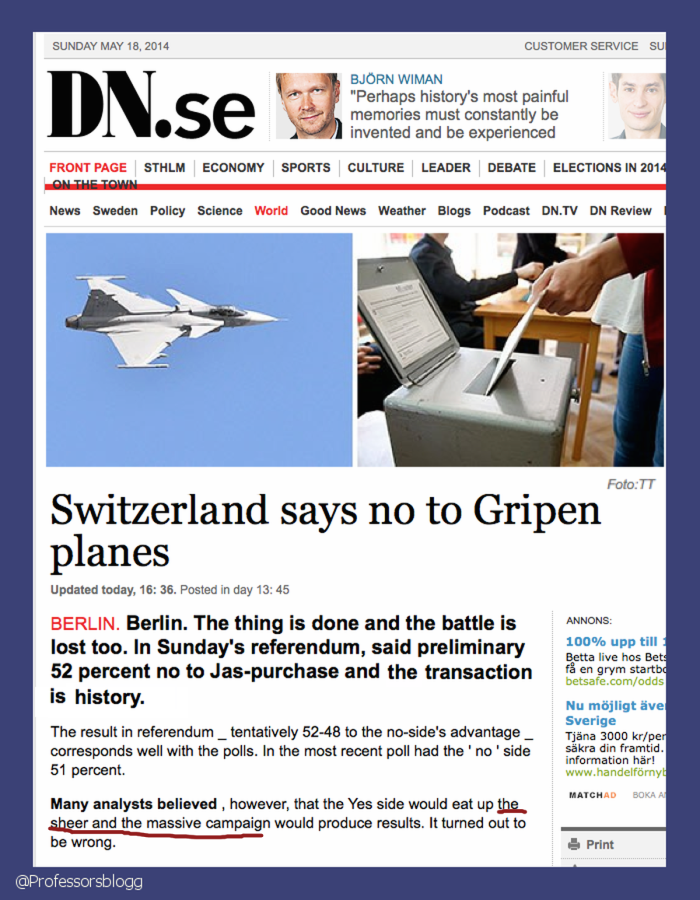 dn on gripen NO