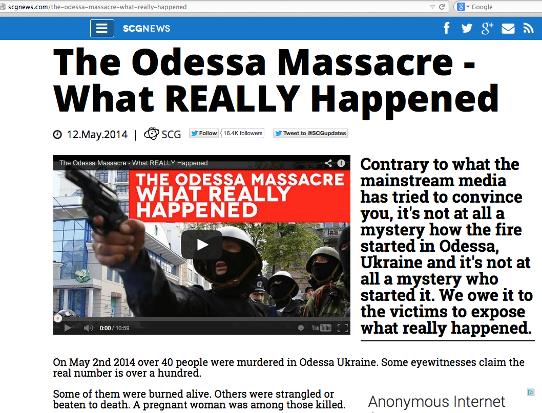odessa massacre what really happened