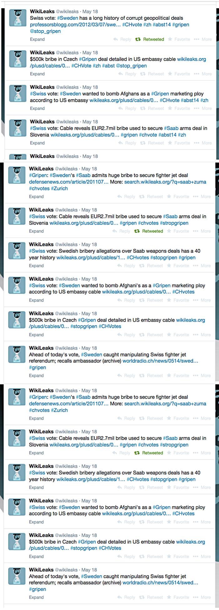 wl tweets on grippen affair