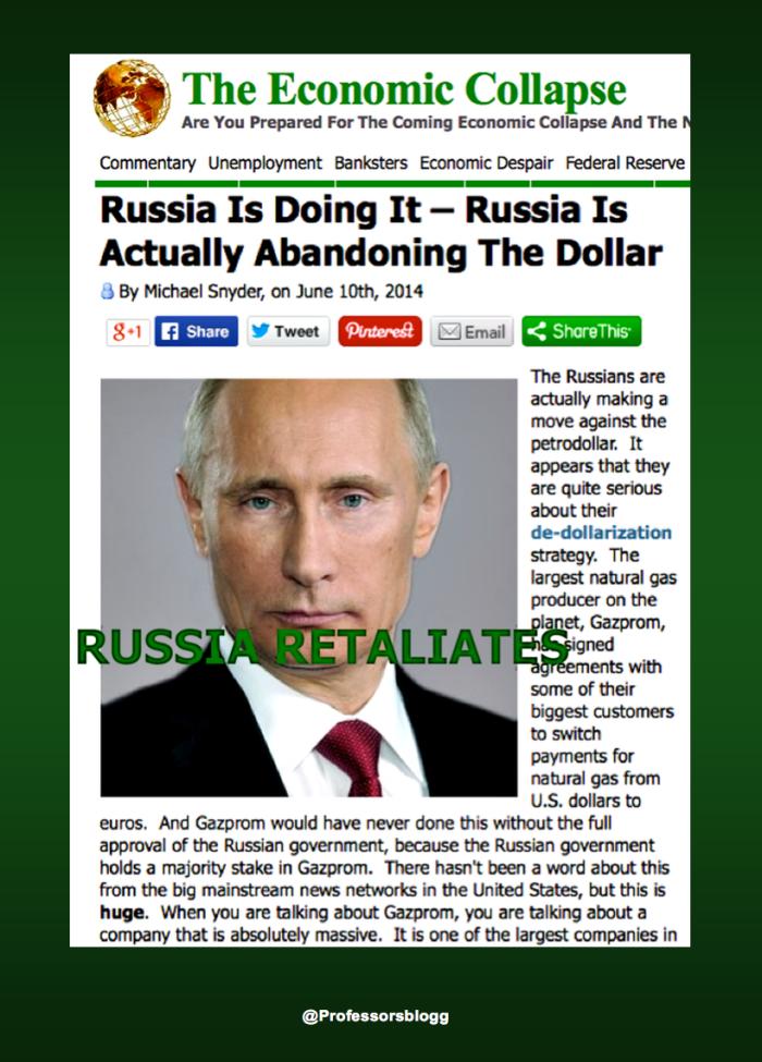 rusia retaliates