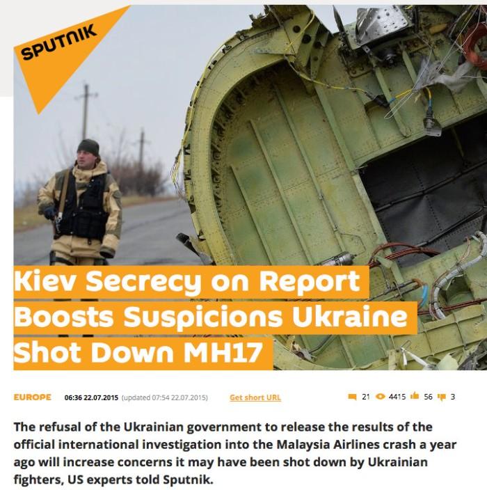mh17 sputnik