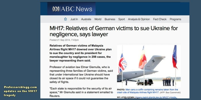 mh17 update 21 sept