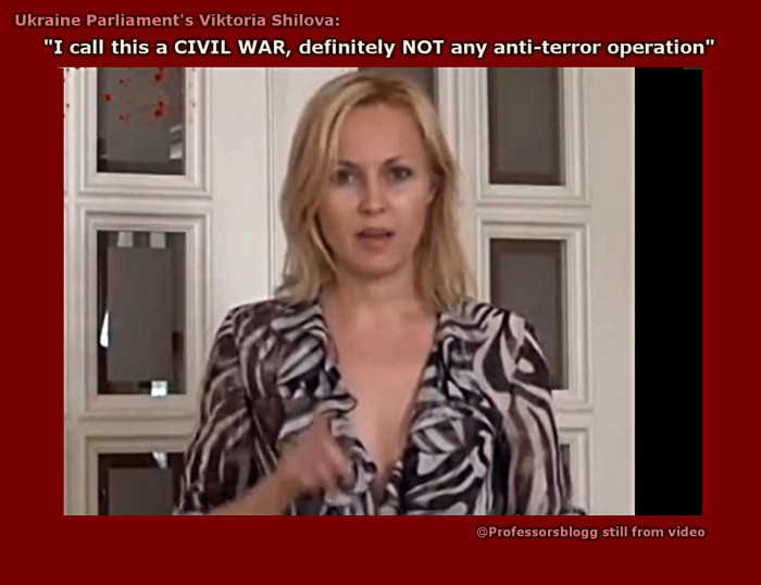 Prof Ferrada de Noli on Twitter. Viktoria Shilova anti-war speech - video