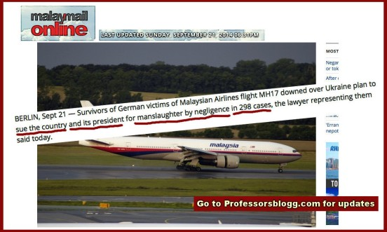 Report in malaymailonline on MH17 21 Sept 2014