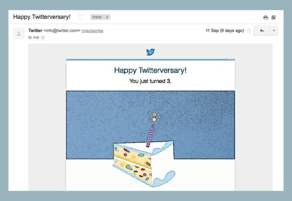 3 years on twitter