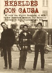 Cover book Ferrada de Noli on Miguel Enriquez