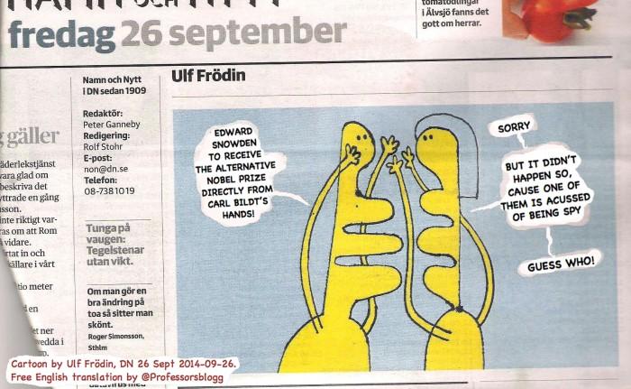 ENG.TRANSLAT. CARTOON BY ULF FRÖDIN
