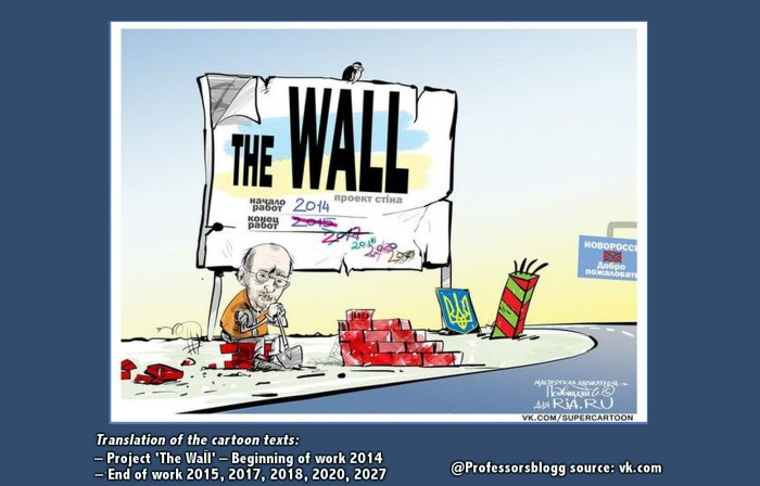 Prof Ferrada de Noli on Twitter. The Ukraine Wall