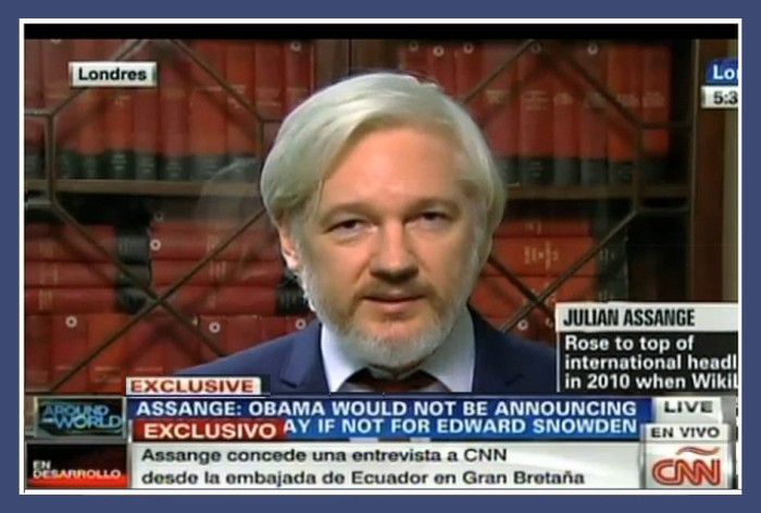 assange cnn interv to profblgg