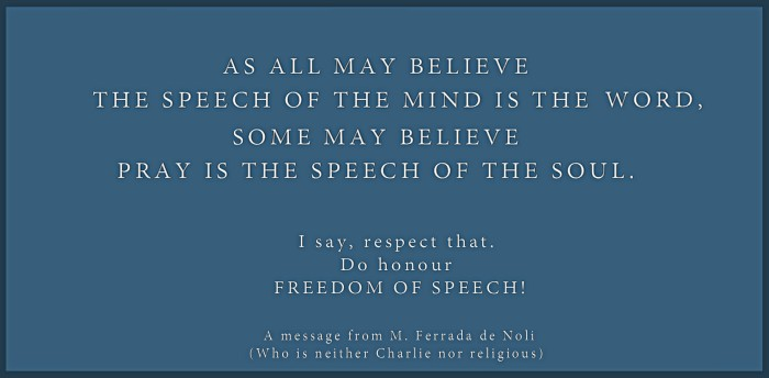 M. Ferrada de Noli says on Freedom of Speech