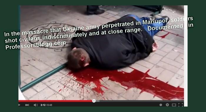 mariupol 3  massacre