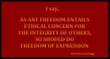 Prof Ferrada de Noli on Twitter – Freedom of Expression