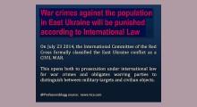 war crimes in ukraine