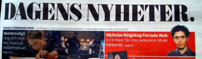 Nicholas Ringskog Ferrada-Noli - DN 3 February 2015