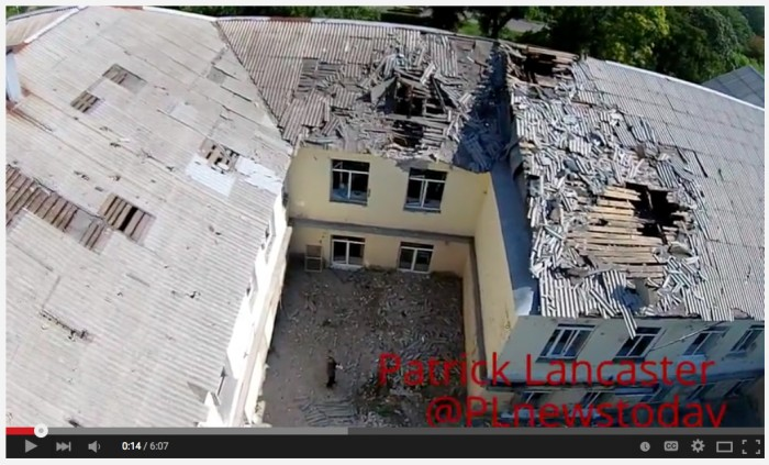 Hospital shelled video still