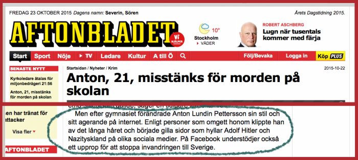 aftonbladet on school-killer