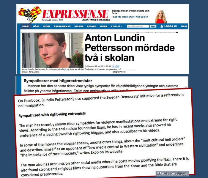 Expressen transl English 22 Oct 2015